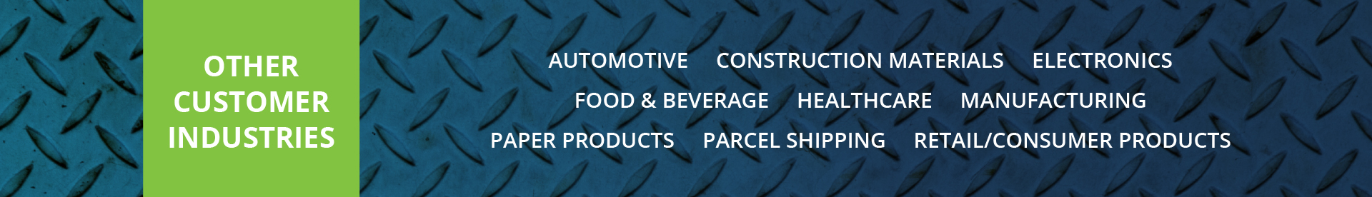 transportation and logistics companies in Gainesville Ga - Other Customers Industries IMG