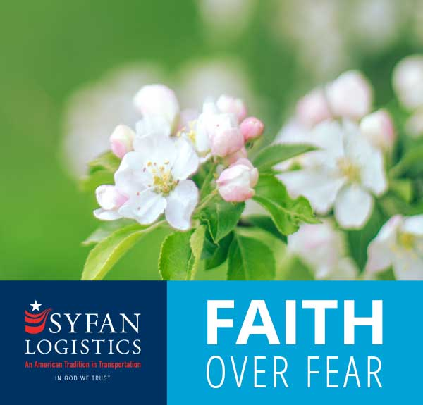 Faith Over Fear: The Promise of Resurrection. He is Risen!